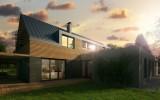 studie nízkoenergetického rodinného domu Velká Dobrá