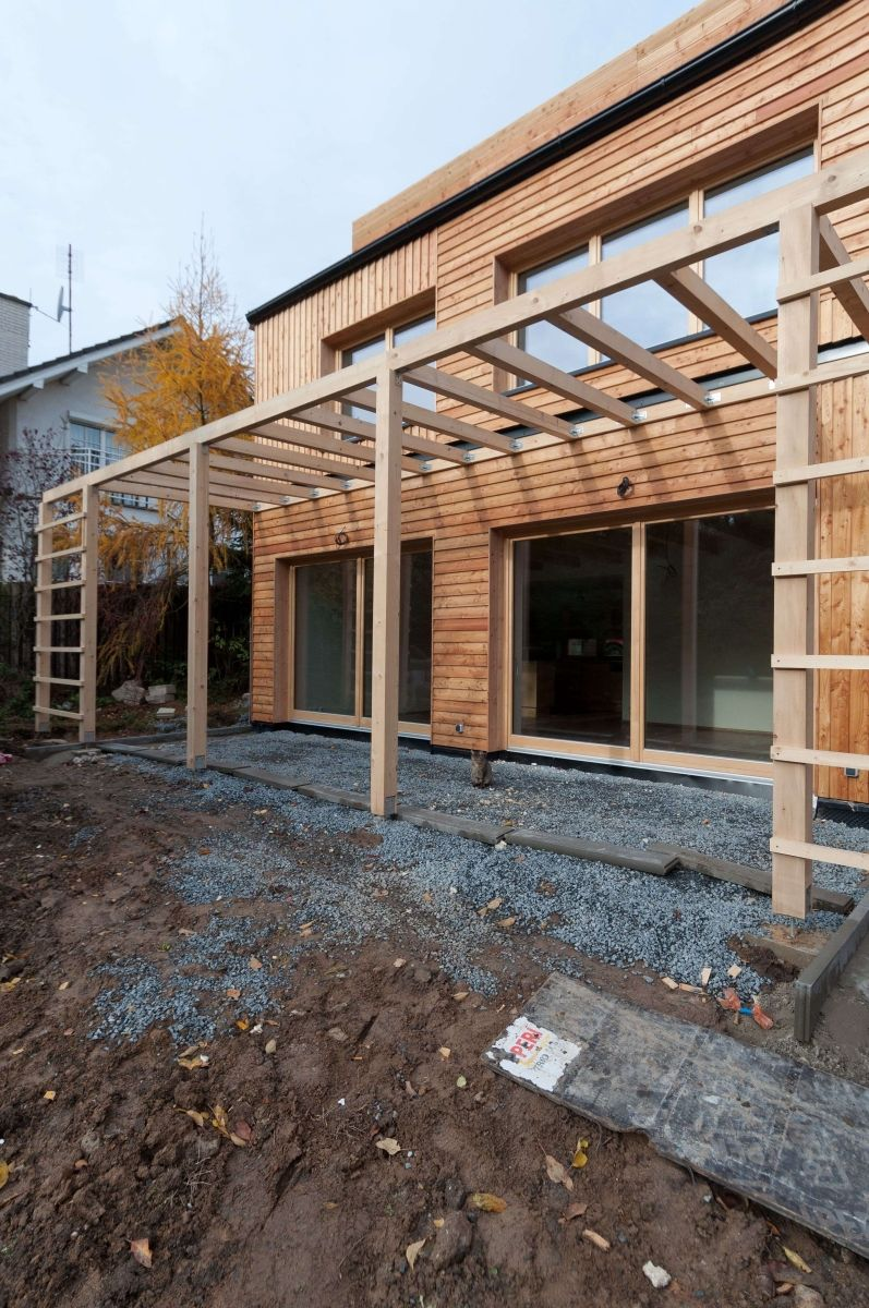 architektonický návrh rodinného domu v Šestajovicích