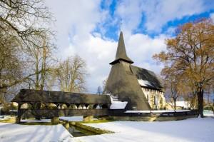 dřevěný kostel sv. Bartoloměje v Kočí z r. 1397