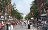 pěší bulvár v Kodani