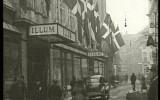 historický obrázek ulice v Kodani