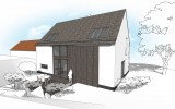 Přestavba stodoly na rodinný dům Líšnice