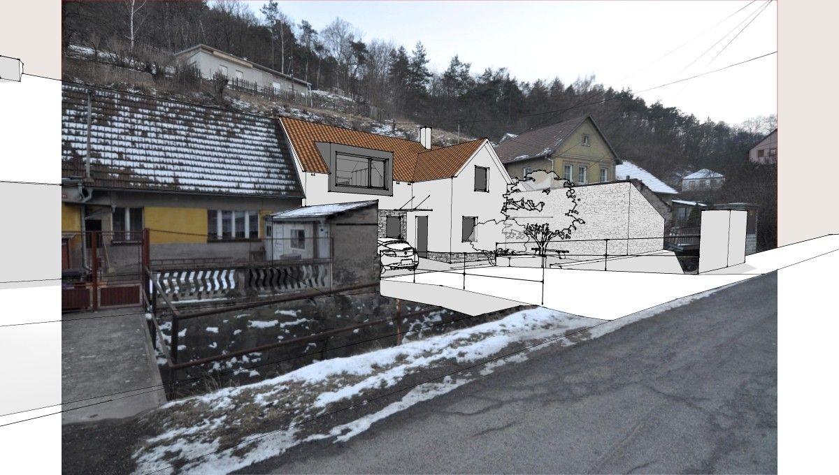 návrh rekonstrukce a přístavby rodinného domu