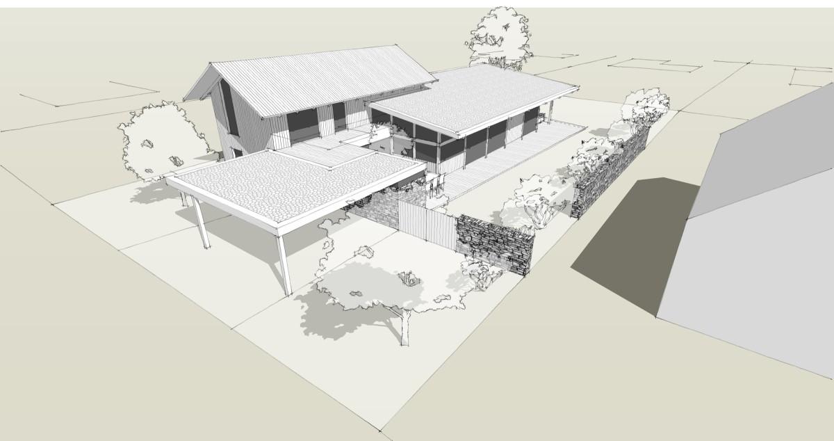 návrh rodinného domu Líšnice