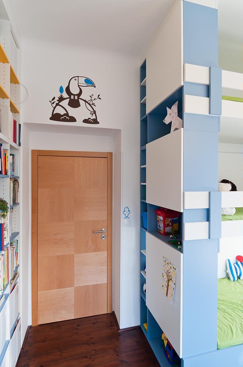 návrh interiéru dětského pokoje