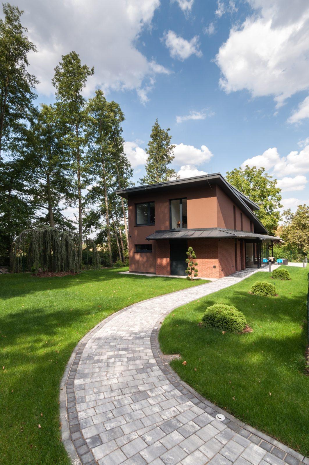 návrh rodinného domu včetně interiéru od architekta