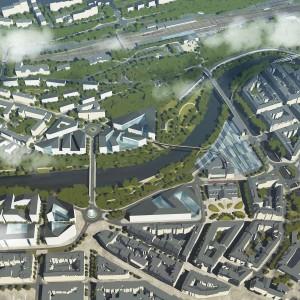Urbanistické řešení širšího centra města Karlovy Vary