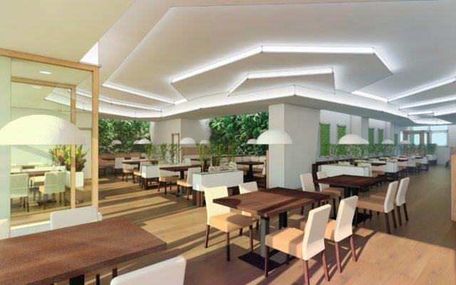 návrh restaurace
