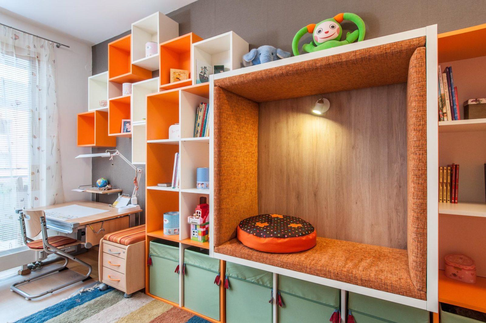 návrh dětského pokoje pro holčičku